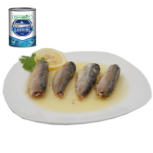125g Halal Canned Sardine Fish in Brine with oil