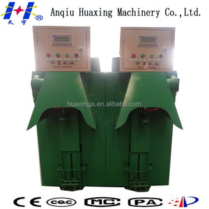 China Huaxin 2spouts cement packer e-liquid filling machine