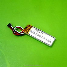 Factory price small lipo battery 3.7v lithium polymer battery for mini bluetooth use/MP3/Smart watch