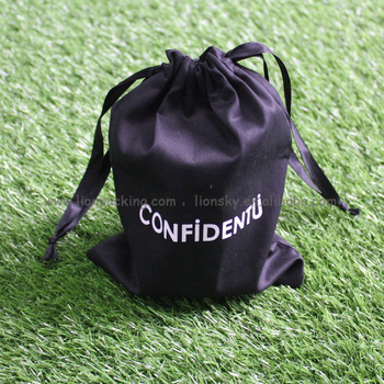 2017 Promotional top grade eco recycle canvas cotton drawstring bag string pouch
