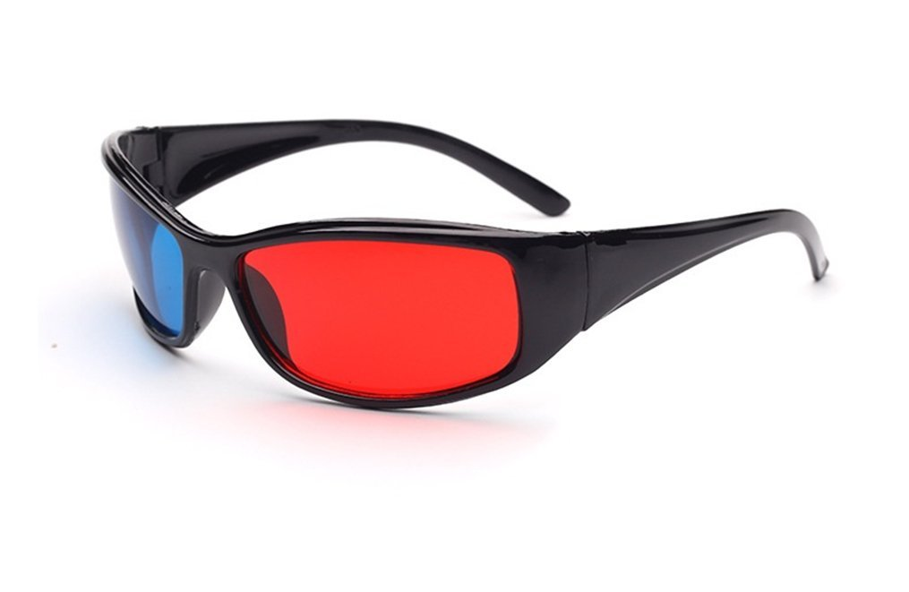 Glasses Direct-3D Glasses -3D Vision Ultimate Anaglyph 3D Glasses - Made To Fit Over Prescription Glasses-YYBR