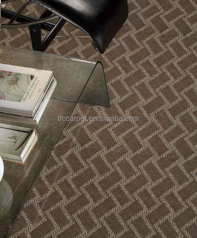 broadloom polypropylene quality carpet for Public Areas and residential
