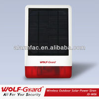 Ce Approved Wireless Spot Alarm System With Bulid-in Alarm Siren ...
