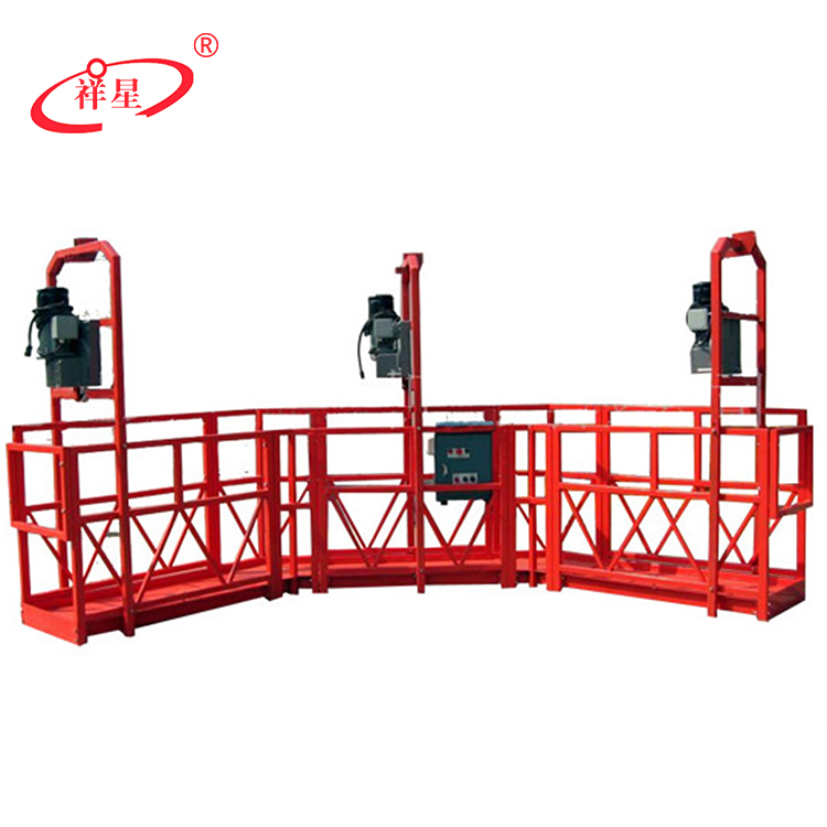 China top 10 cirle shape building cleaning platforms