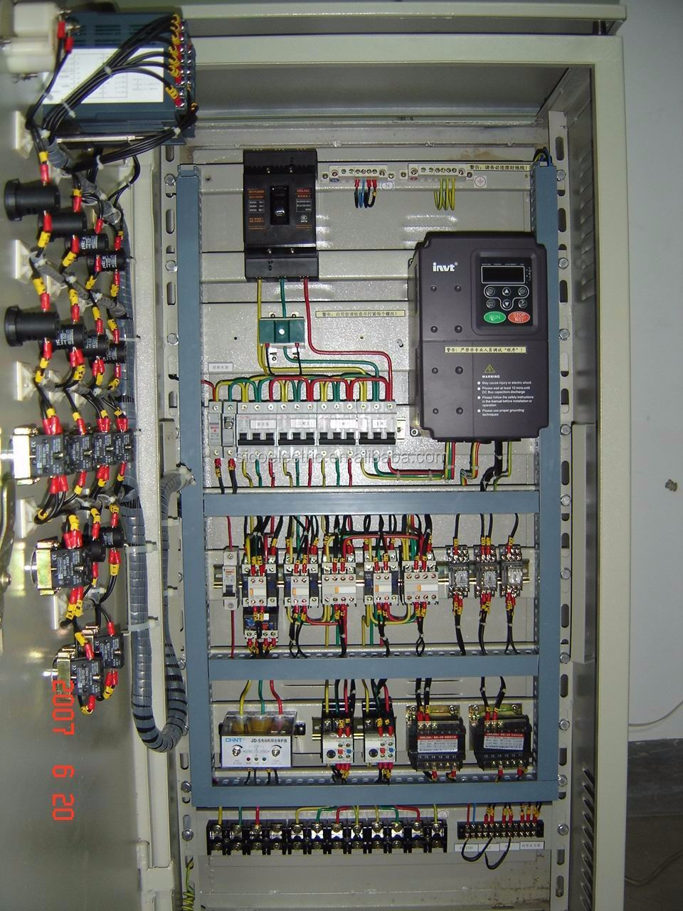 Germany Siemens PLC Electrical Control Panel