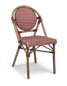 All Weather Rattan Chair Outdoor Bamboo Chair Used Restaurant Furniture