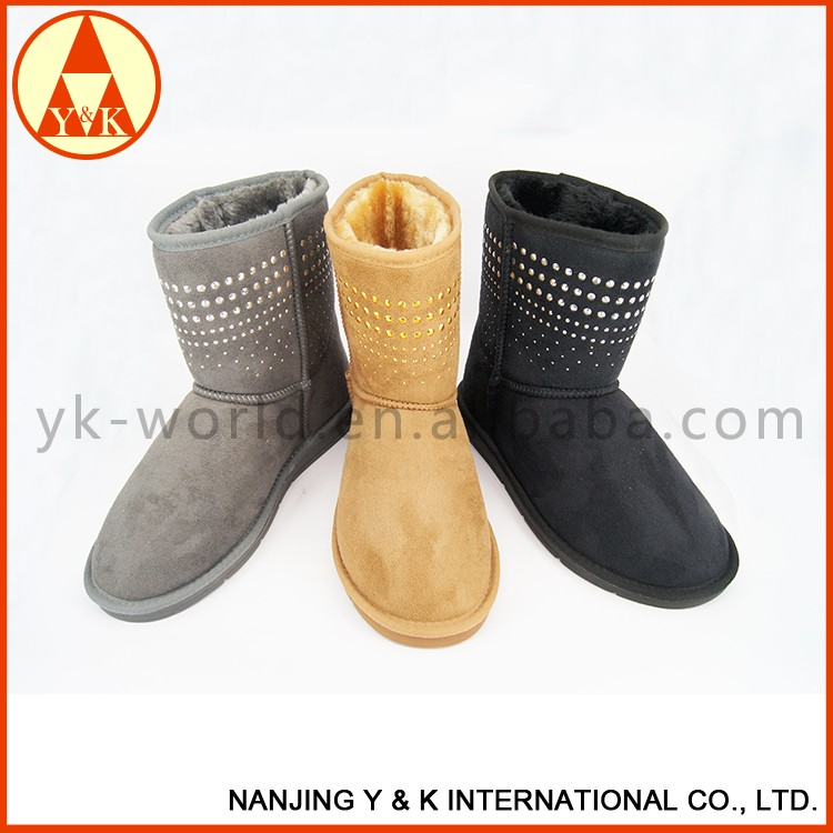 2016 Women Winter Shoes Shiny Snow Boots 760fcc4a8
