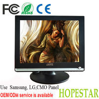 "NEW 1024x768 resolution av input,HDMI+RCA+VGA 15"" lcd monitor"