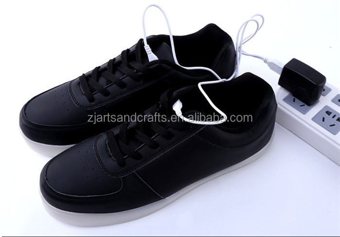 wholesale china flat shoes fashion cool led shoes