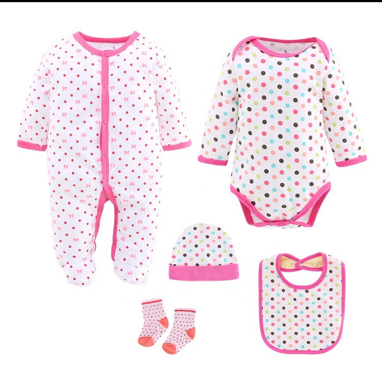5pcs in 1 <strong>set</strong> romper clothing trendy style <strong>new</strong> born <strong>baby</strong> <strong>gift</strong> <strong>set</strong> fashion toddler clothing <strong>sets</strong>
