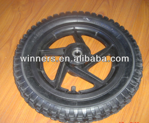 12 x 2.125 small plastic Pneumatic Rubber Wheel