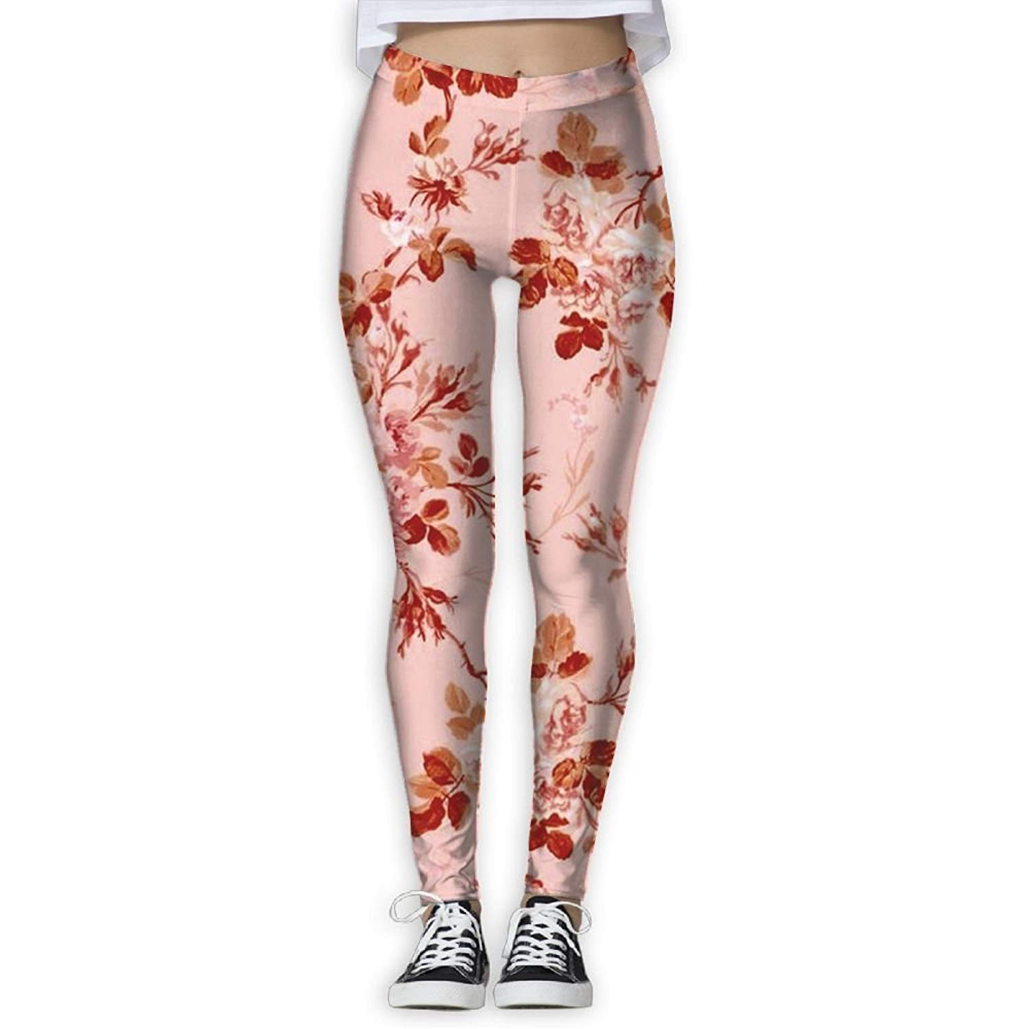 64e1e5bbf75f5 Get Quotations · HYTGHTFTT Hot Sale Peach Blossom Yoga Pants Sport Pants  Workout Leggings Sexy High Waist Trousers