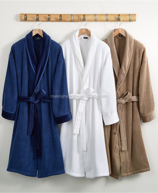 100% Cotton Wholesale High Quality Hotel Terry Bathrobe