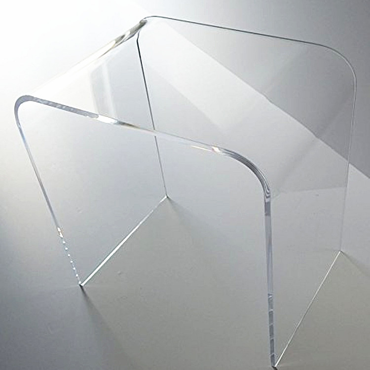 Plexiglass End <strong>Table</strong> Living Room Console <strong>Table</strong> Desk Crystal Acrylic U-turn Coffee <strong>Table</strong>
