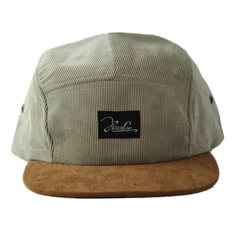 Get Quotations · 2015 New Arrival High Quality Black Corduroy Flat Bill  Adjustable Closure Camp Cap 5 Panel Hats 168cf9adf90