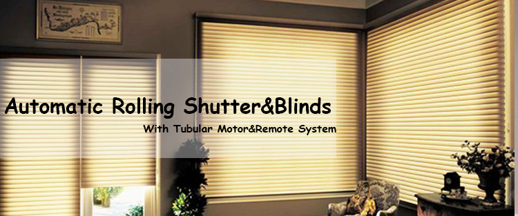 Automatic Electric Curtain Tubular Motor Window Roller Blind YC-1D