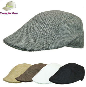 Summer Men Women Duckbill Cap Ivy Hat Golf Driving Flat Cabbie Newsboy 76f58357c69
