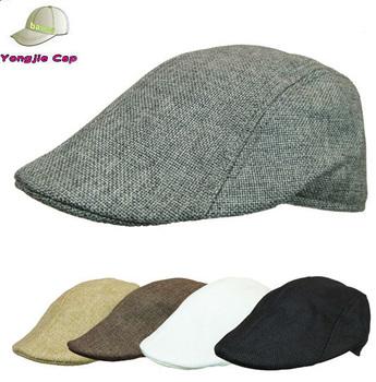 Summer Men Women Duckbill Cap Ivy Hat Golf Driving Flat Cabbie Newsboy 6f78f23d993