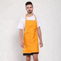 2019 new design Oilcloth Apron Cooking restaurant apron