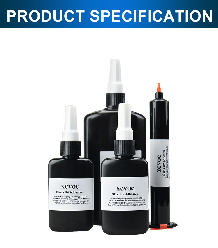 High Quality UV Glue for Glass UV Light Glue 3 Second Fast Dry Glass&Metal UV Cure Adhesive