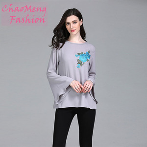 091# Plus size women clothing long shirts muslim ladies wholesale dubai blouses islamic clothing abaya blouse 2018