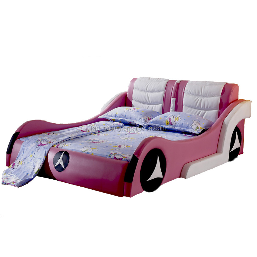 fansheng bmw car style kids bed adult children car bed price