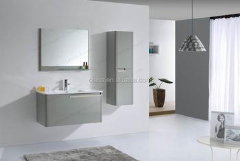 Grey mm badkamermeubel mdf badkamer ijdelheid zijkabinet buy