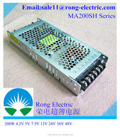 MA200H5 updated version MA200SH5 5v 40a slim power supply for led display switching power supply