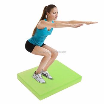 New Gym Pilates Yoga Mat Pad Balance Cushion Exercise Fitness Mat
