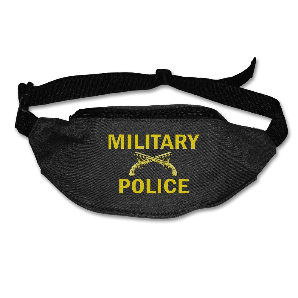 Military Police Zipper Waist Pack Fanny Pack Fitness Workout Hiking Running Travel