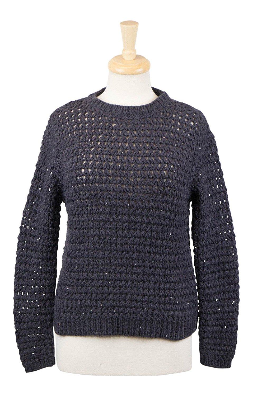 279f96e108d Get Quotations · Brunello Cucinelli Navy Blue Cashmere Blend Knit Sweater  Size Large