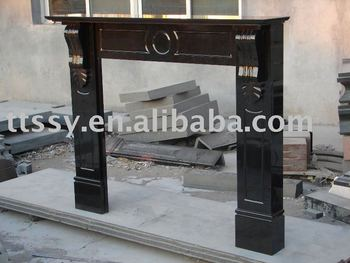 ireland black granite fireplace mantel buy ireland black granite rh alibaba com
