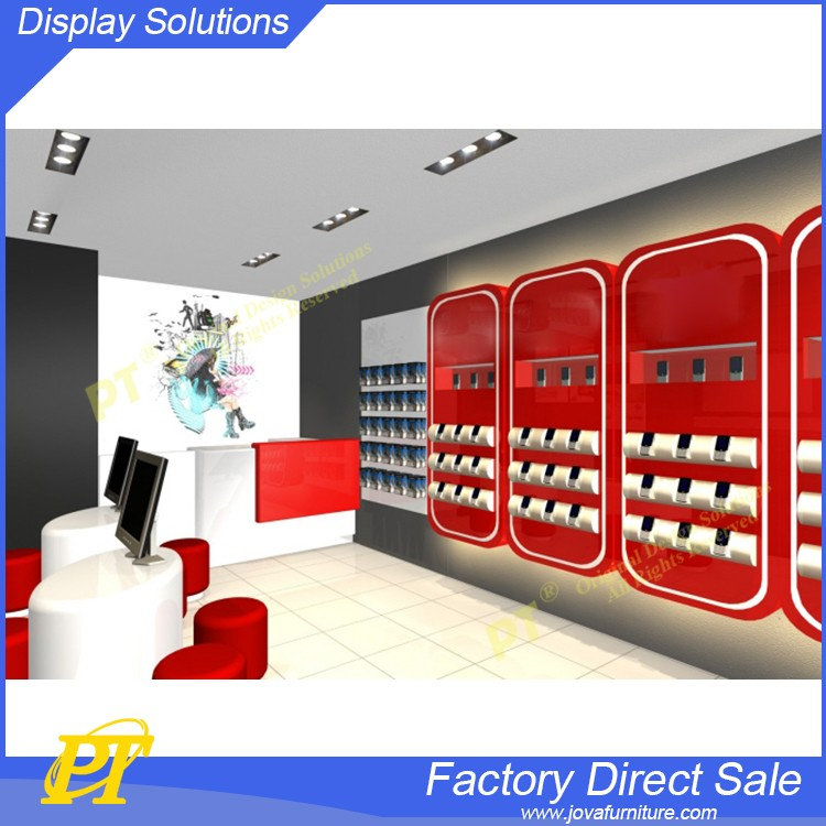 Custom Mobile Phone And Accessories Display Furniture Design For Mobile Shop. Custom Mobile Phone And Accessories Display Furniture Design For