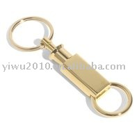 Promotional Auto Accessories,Promotional Key Chains,Keyholder - Gold Twist Lock Key Separator