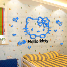 why to order home decoration creative art 3d crystal china baby wall stickers
