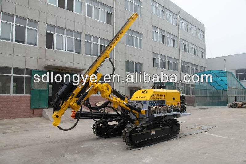 DTH blast hole drilling rig/rock drilling equipment CTQ-G140YF for sale