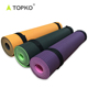 Wholesale TOPKO Double Layers Multi Color OEM Eco 100% TPE Yoga Mat
