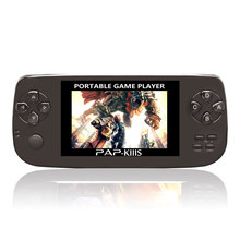 64bit 4GB video handheld Juego PAP-KIIIS game console player