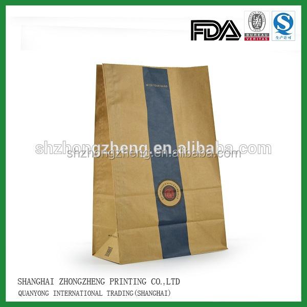 Take Away Fast Food Paper Bag Accept Customer Design,Oem