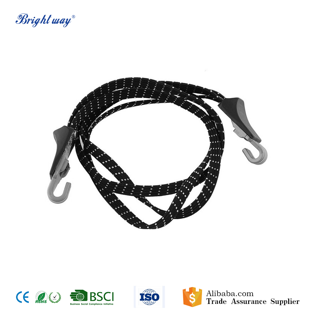 68cm Bicycle Elastic Luggage Stacking Rope Banding Bungee Cord with hook