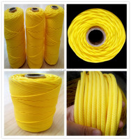 Wholesale Yellow 3 mm Polypropylene braided Twine