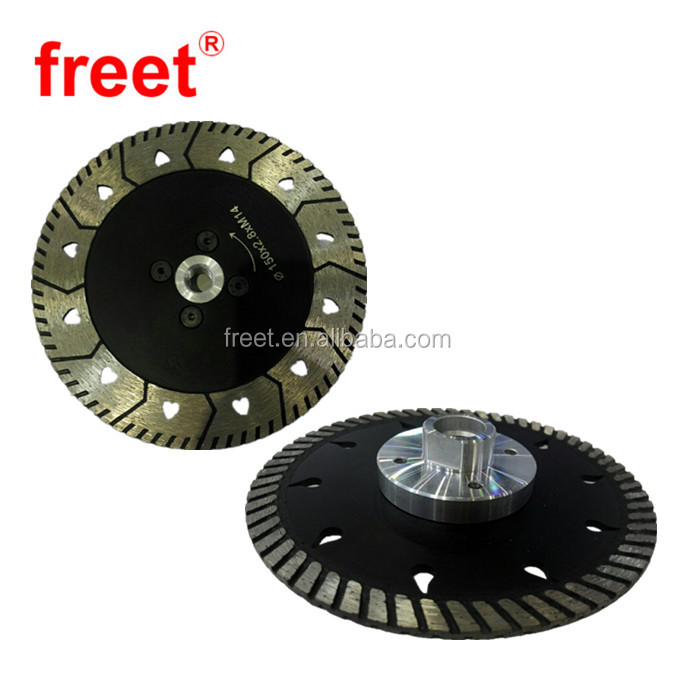 Diamond cutting and grinding disc saw blade for marble/granite/masonry