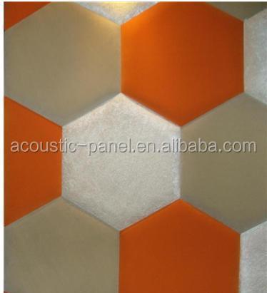 hexagon shape acoustic foam panels soundproof wall panels