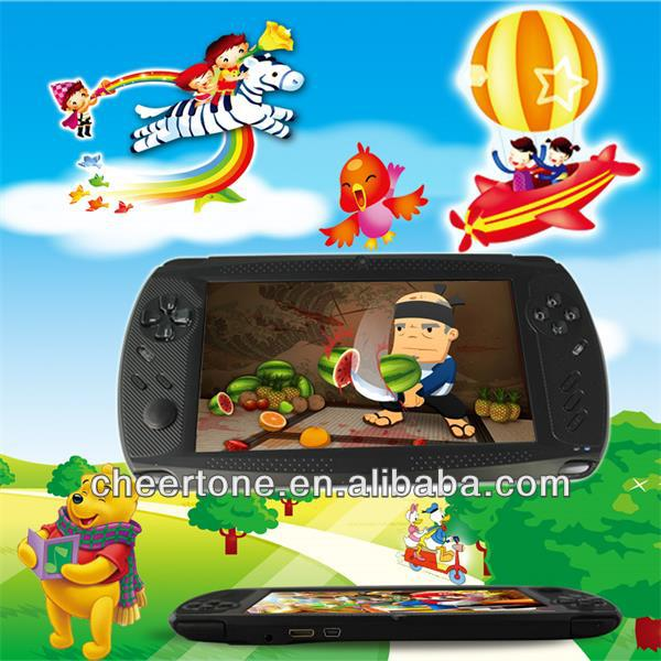 7 inch android game console with full HD decode