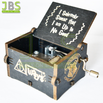 Hedwig Theme Hand Crank Harry Potter Music Box
