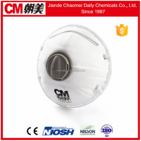CM wide range of non-toxic nuisance dusts and mists associated with pollen disposable dust respirator