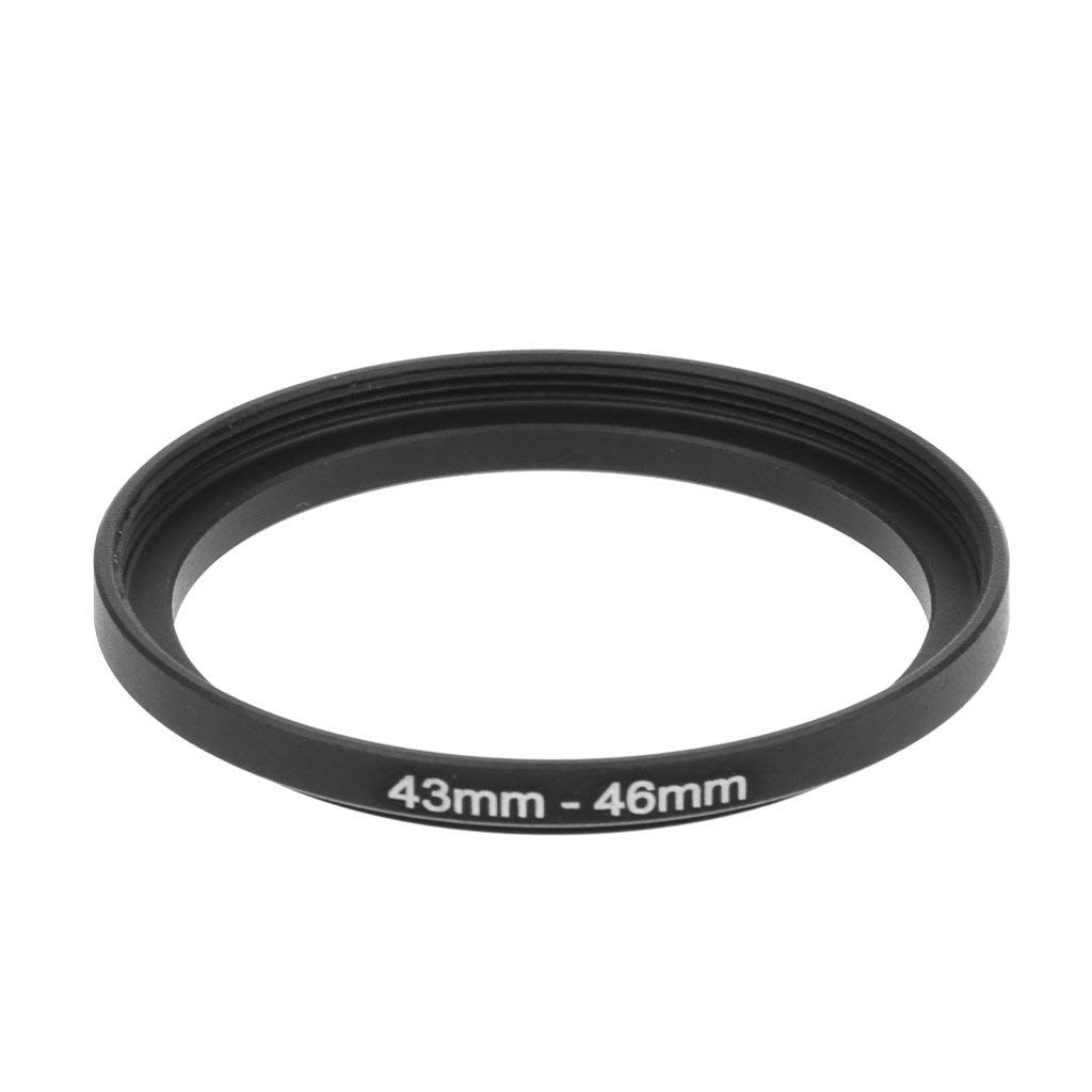 SNT 58-46mm Step-Down Adapter Ring Metal Stepping Rings Lens Filter Ring 58mm Lens to 46mm Adapter Camera Accessory for Canon Nikon Sony Sigma Tamron DSLR Cameras