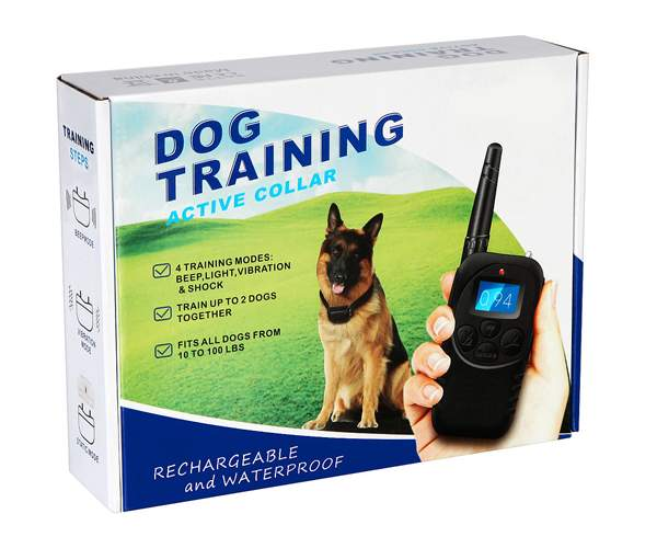 Rechargeable Remote Dog Training Collar