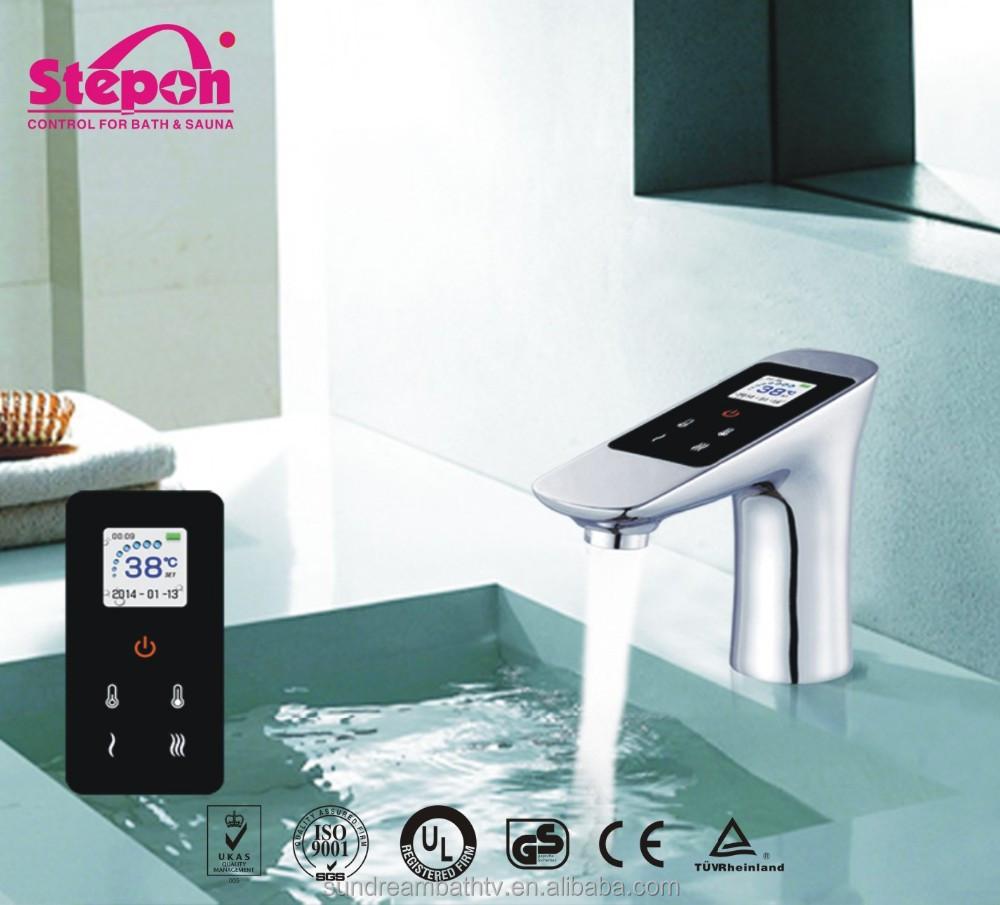 Sensor digital agua inteligente grifos grifer a de lavabo - Grifos inteligentes ...