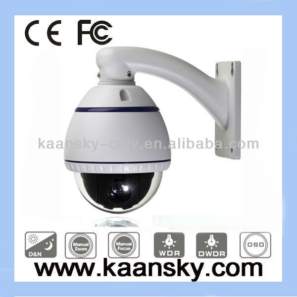 KST-MSD101 RS-485 650tvl 10x zoom mini high speed ptz dome camera